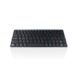 Accuratus KYB-MAXIMUS-B-UK Bluetooth QWERTY English Black, Silver keyboard