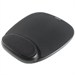 Kensington Gel Mouse Pad with Integral Wrist Rest Black