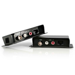 StarTech.com Composiet Video Verlenger via Cat5 met Audio