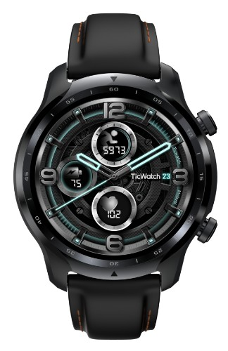 Mobvoi Ticwatch Pro 3 GPS Black Shadow AMOLED 3.56 cm (1.4