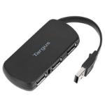Targus ACH114EU interface hub USB 2.0 480 Mbit/s Black