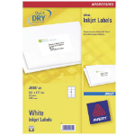 Avery J8165-25 addressing label White