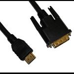 Videk HDMI/DVI 5m DVI HDMI Black