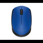 Logitech 910-004638 RF inalámbrico Óptico Ambidextro Azul ratone