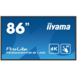 "iiyama ProLite TE8668MIS-B1AG 86"" 3840 x 2160pixels Multi-touch Multi-user Black touch screen monitor"