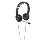 Kensington K33323WW 3.5 mm Binaural Head-band Black headset