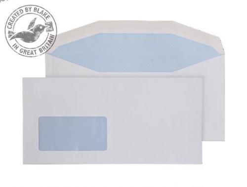 Blake Purely Everyday White Window Gummed Mailer DL+ 114X235mm 90gsm (Pack 1000)
