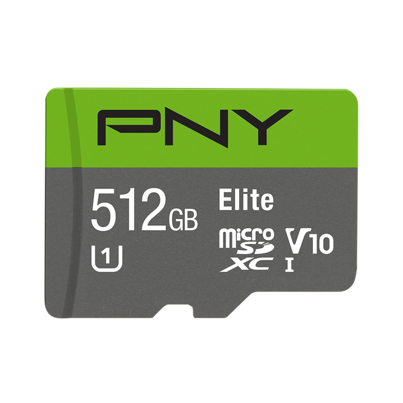 PNY Elite flashgeheugen 512 GB MicroSDXC Klasse 10 UHS-I