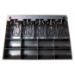 APG Cash Drawer PK-15TA-M1-BX bandeja para cajón portamonedas Negro
