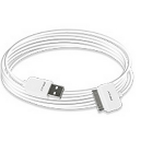 PNY C-UA-AP-W01-06 1.8m White mobile phone cable