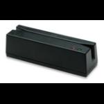 Manhattan USB-A Magnetic Strip Card Reader, Triple Track Reader, Keyboard Wedge Decoder, Cable 1.5m, Black, Three Year Warranty, Box