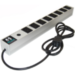 ONLINE USV-Systeme IEC10A8IEC10A-RACK surge protector 8 AC outlet(s) Grey 2 m