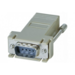 Hypertec 250420-HY cable interface/gender adapter DB9 RJ-45 Grey