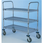 FSMISC 3TIER STAINLESS STEEL TROLLEY 329049041