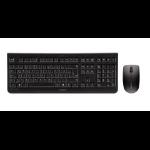 CHERRY DW 3000 keyboard RF Wireless Spanish Black