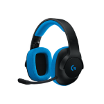 Logitech G233 Binaural Head-band Black,Blue headset