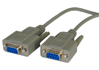 Cables Direct SL-925 10m D9 (F) D9 (F) Grey serial cable