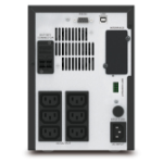 APC Easy UPS SMV Unterbrechungsfreie Stromversorgung UPS Line-Interaktiv 1000 VA 700 W 6 AC-Ausgänge