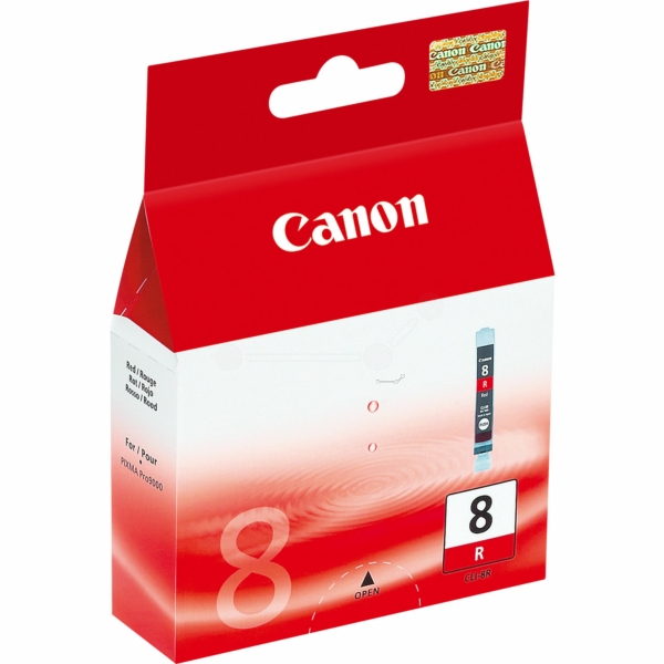 Canon 0626B001 (CLI-8 R) Ink cartridge red, 5.79K pages, 13ml