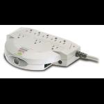 APC PRO8T2 Professional SurgeArrest 8AC outlet(s) 120V 1.8m Beige surge protector
