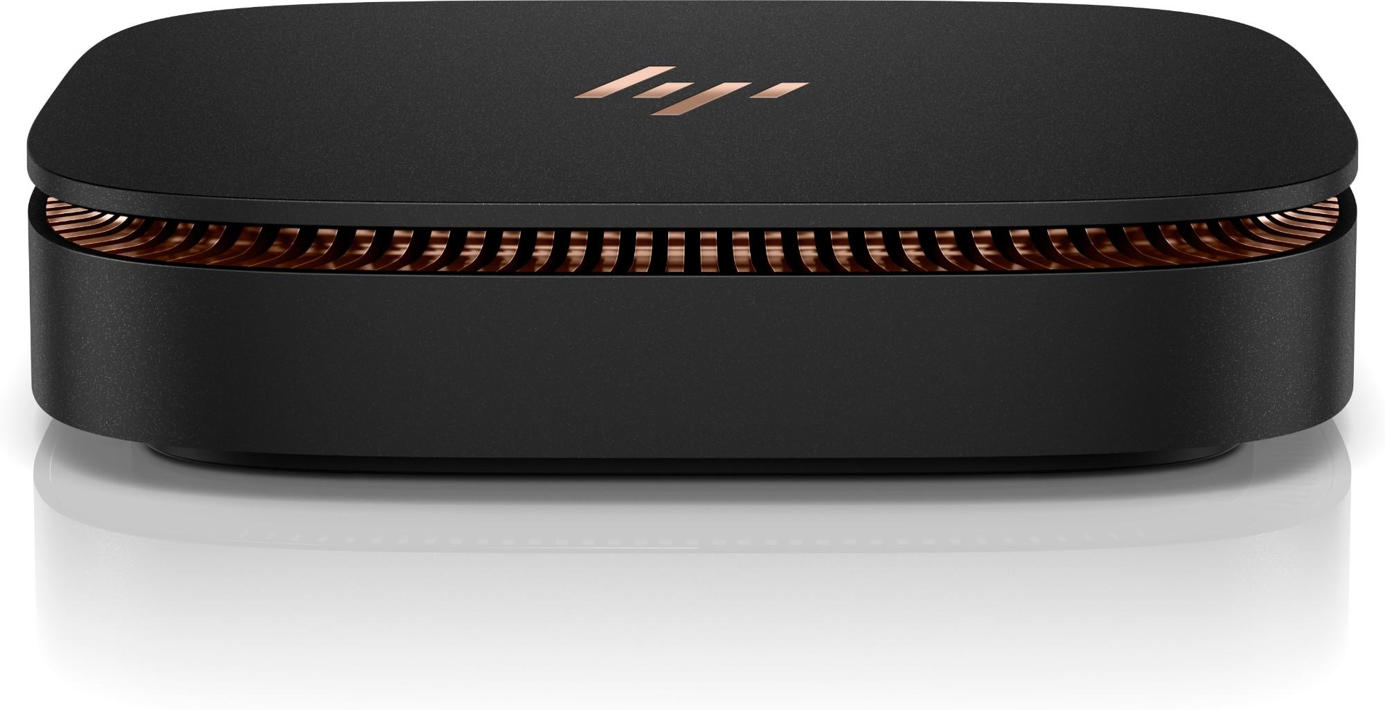 HP Elite Slice 3.2GHz i3-6100T USFF 6th gen Intel® Core™ i3 Black Mini PC