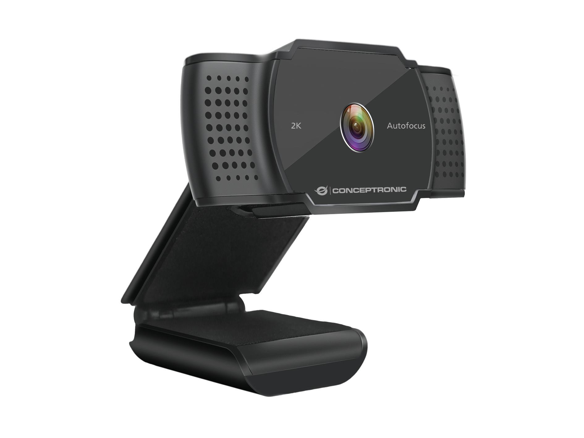Conceptronic AMDIS 2K Super HD Autofocus Webcam with Microphone