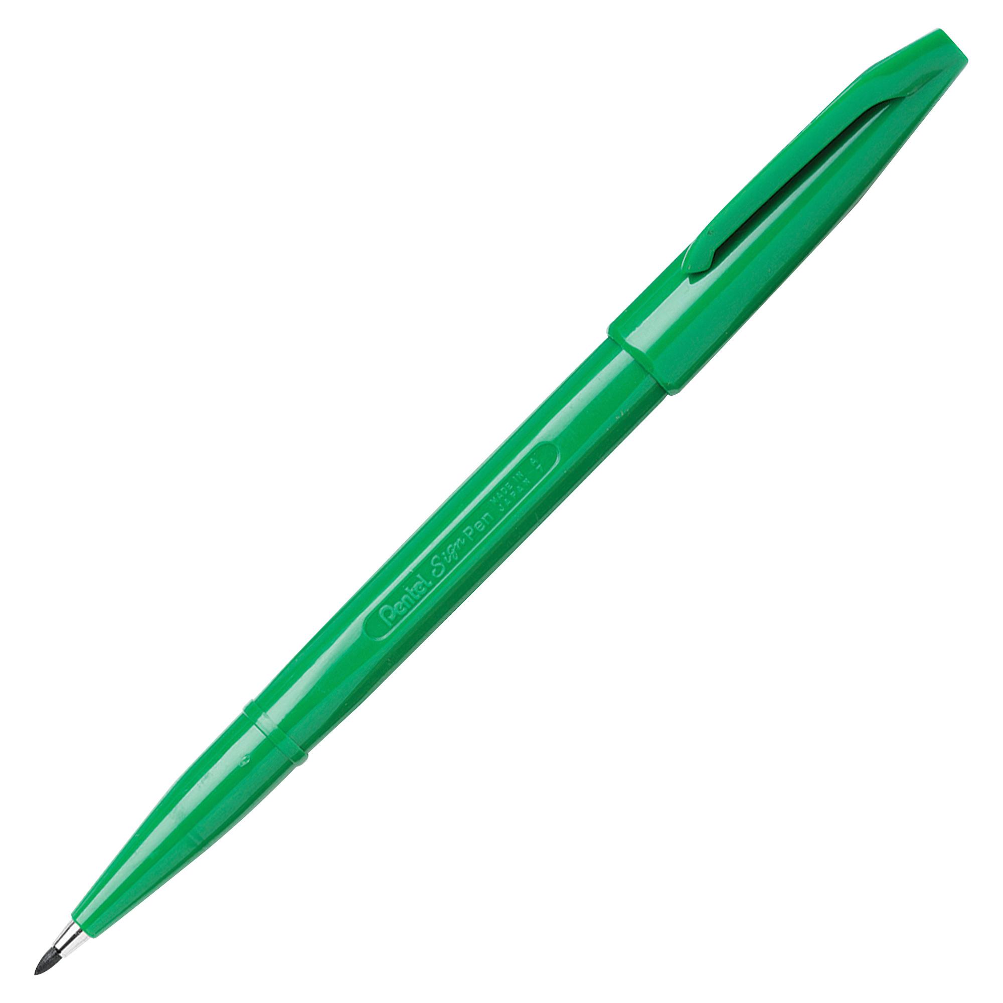 Pentel Sign Pen fineliner Fine Green 1 pc(s)