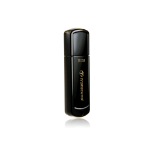 Transcend JetFlash 350 16GB USB 2.0 Type-A Black USB flash drive