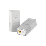 Netgear PLP1000 1000Mbit/s Ethernet LAN White 2pc(s)