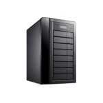 Promise Technology Pegasus2 R8 48000GB Tower Black disk array