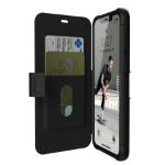 "Urban Armor Gear 111726114040 mobile phone case 16.5 cm (6.5"") Flip case Black"