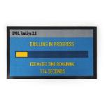 PAYDAY 2 Drilling in Progress Door Mat, Black/Blue (GE2166)