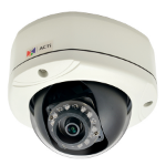 ACTi E76 IP security camera Outdoor Dome Black,White security camera