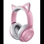 Razer RZ04-03520100-R3M1 headphones/headset Head-band Bluetooth Pink