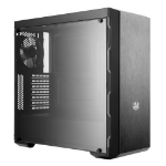 Cooler Master MasterBox MB600L Midi-Tower Black, Metallic computer case