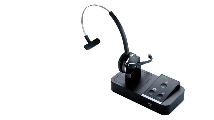 Jabra PRO 9450 Flex Binaural Head-band Black headset