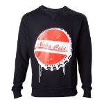 FALLOUT 4 Men's Nuka Cola Bottle Cap Sweater, Extra Large, Black (SW340008FOT-XL)