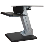 StarTech.com ARMSTS multimedia cart/stand Multimedia stand Black,Silver Flat panel