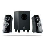 Logitech Z323 2.1channels 30W Black speaker set