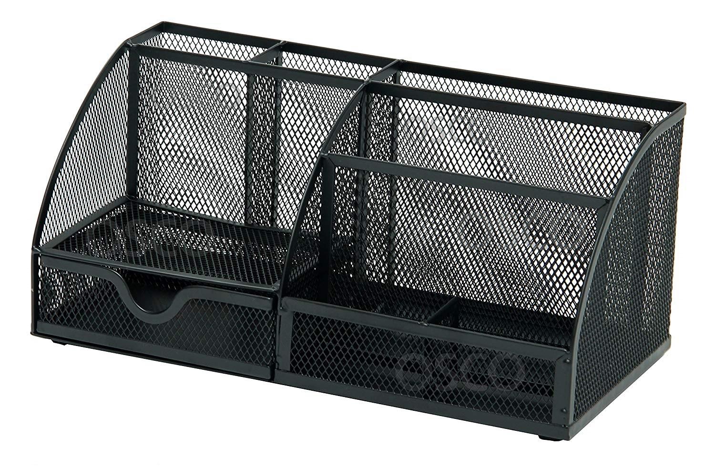 Osco Mesh Large Desk Organiser Scratch Resistant (Black)