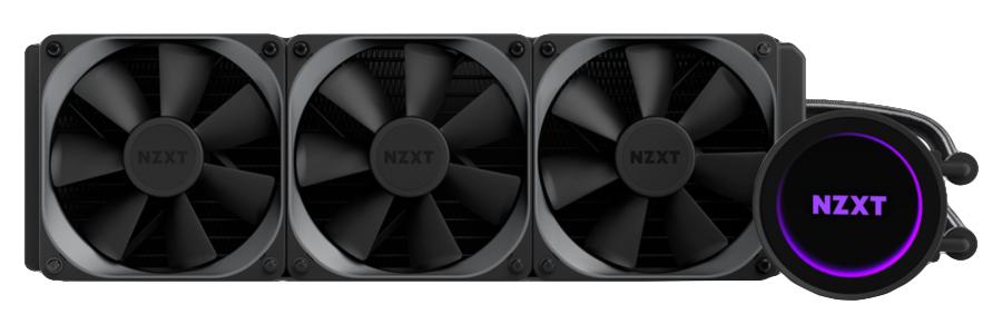 NZXT Kraken X72 liquid cooling Processor, 72 in distributor