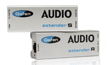 Gefen EXT-AUD-1000 KVM switch Grey