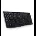 Logitech K270 teclado RF inalámbrico AZERTY Negro