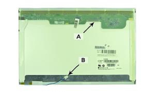 2-Power 2P-452208-001 notebook spare part Display