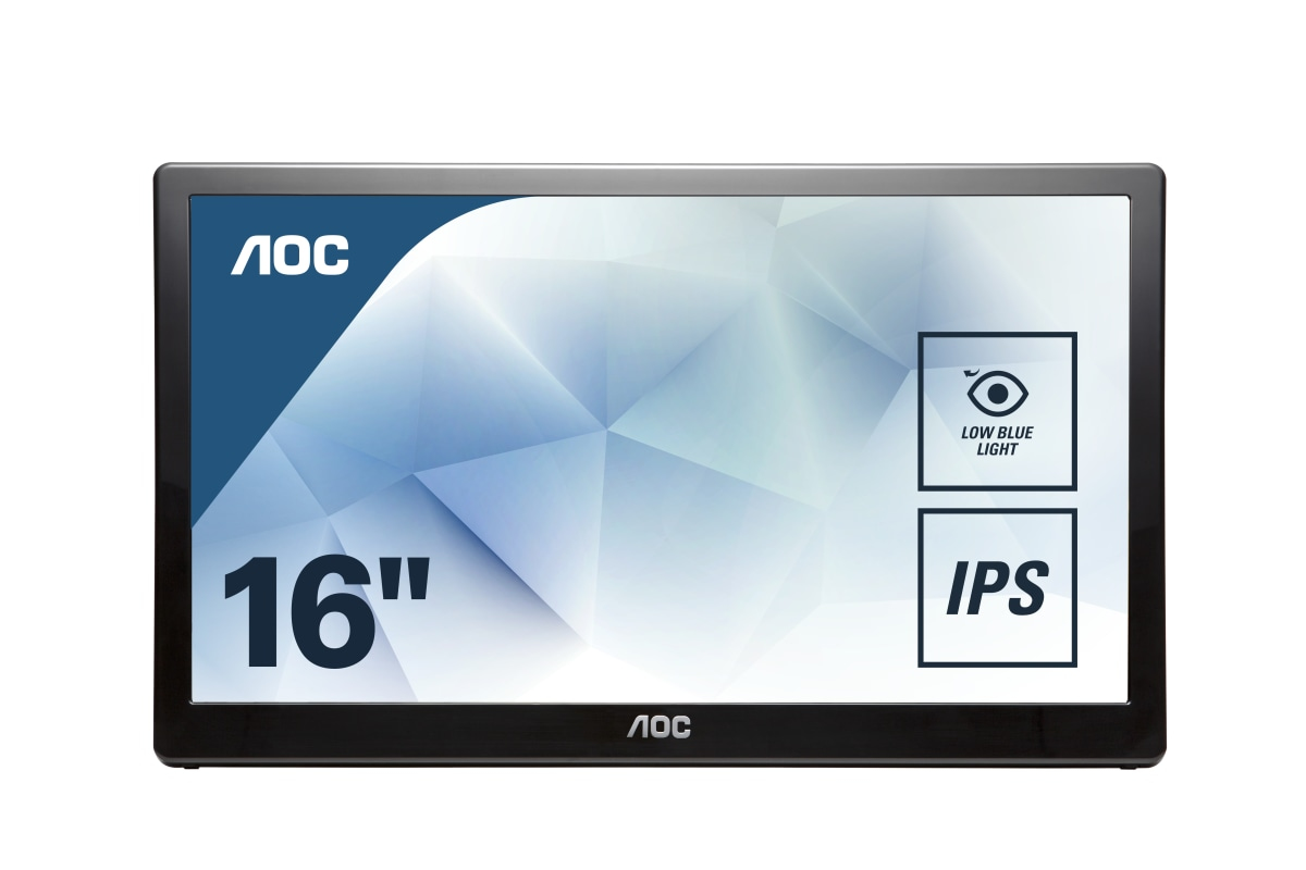 USB monitor - I1659FWUX - 15.6in - 1920x1080 (Full HD) - 5ms