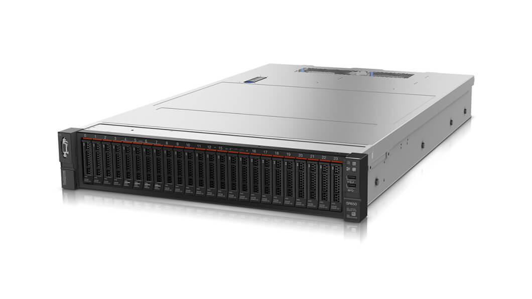 Lenovo ThinkSystem SR650 2.2GHz Rack (2U) 4114 Intel® Xeon® 750W server