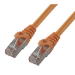 MCL 10m Cat6 F/UTP cable de red F/UTP (FTP) Naranja