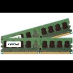 Crucial DDR2 PC2-8500 DIMM 4GB-kit 4GB DDR2 1066MHz memory module