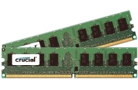 Crucial DDR2 PC2-8500 DIMM 4GB-kit 4GB DDR2 1066MHz memory module