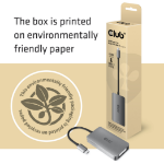 CLUB3D CAC-1510-A video cable adapter USB Type-C DVI